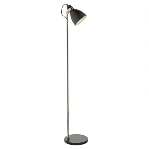 Frederick Floor Lamp Black/ Copper